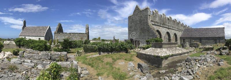 Ardfertkathedraal - Provincie Kerry - Ierland stock afbeelding