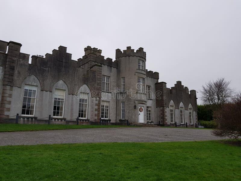 Ardgillan castle stock photo