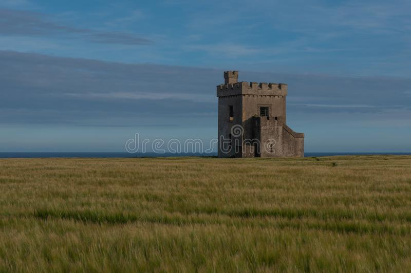 Ardmore Watch Tower royalty free stock photo