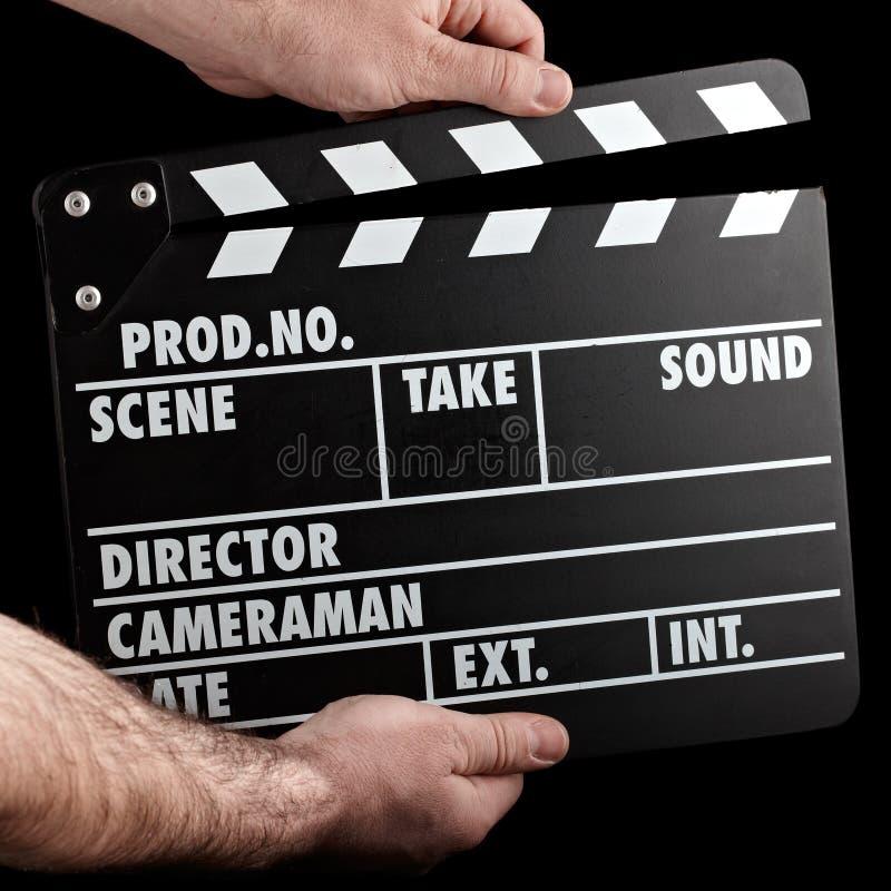 Ardoise de film de cru photos libres de droits