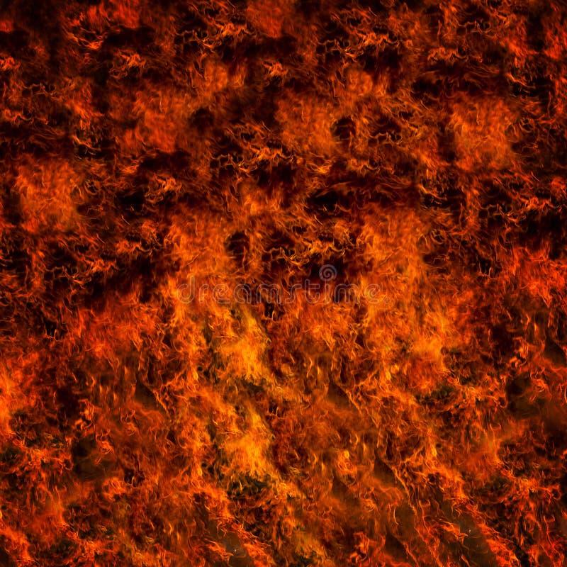 Ardor do fogo ilustração royalty free