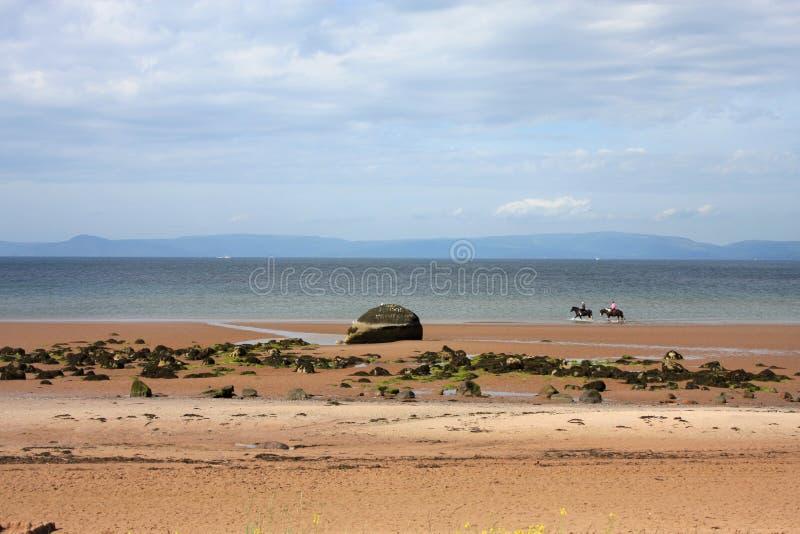 ardrossan plaża obrazy stock