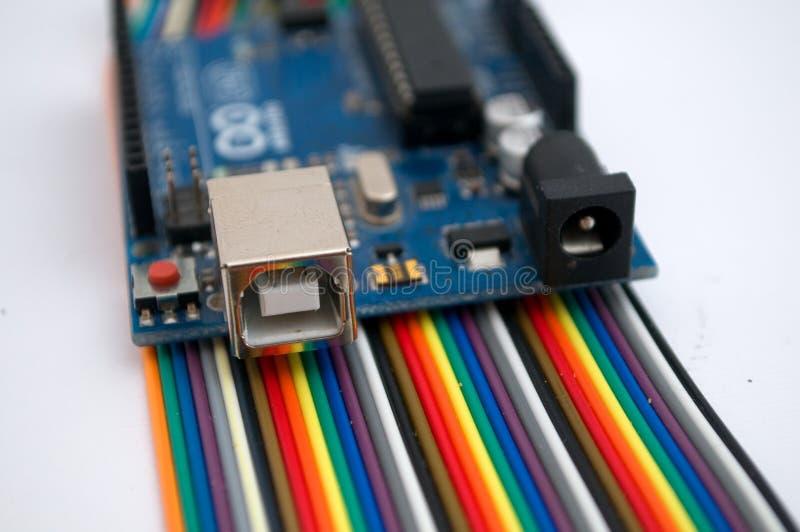 Arduino fotografia stock