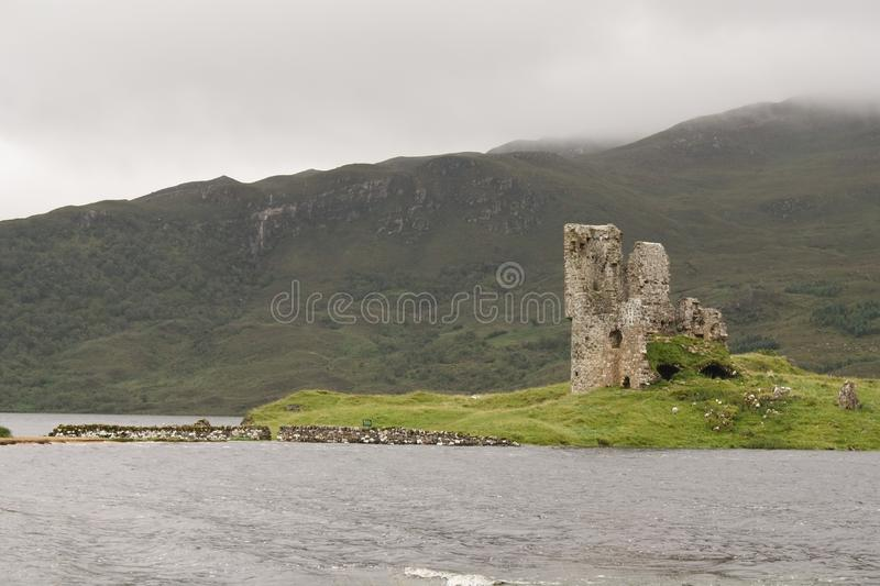 Ardvreck Castle royalty free stock image