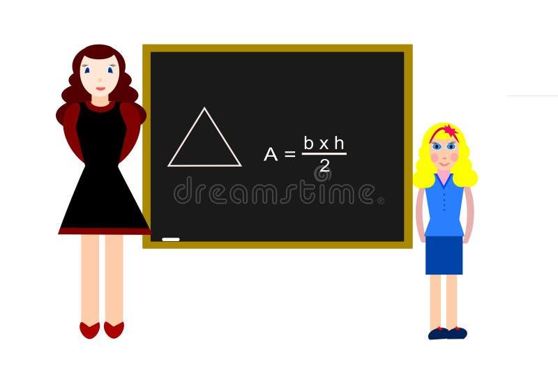 Download Area stock illustration. Illustration of classroom, girl - 4409877