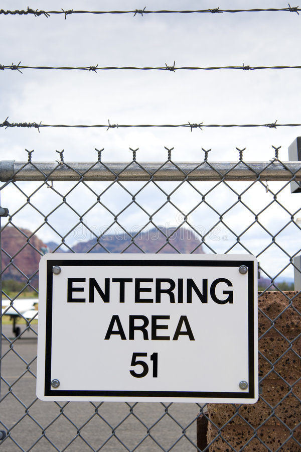 Area 51 stock photography