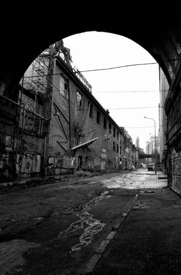 Area abbandonata immagine stock libera da diritti