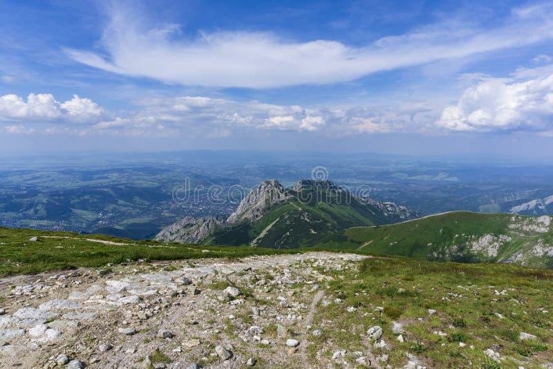 Area of Czerwone Wierchy. Western Tatra Mountains. Poland.  stock image
