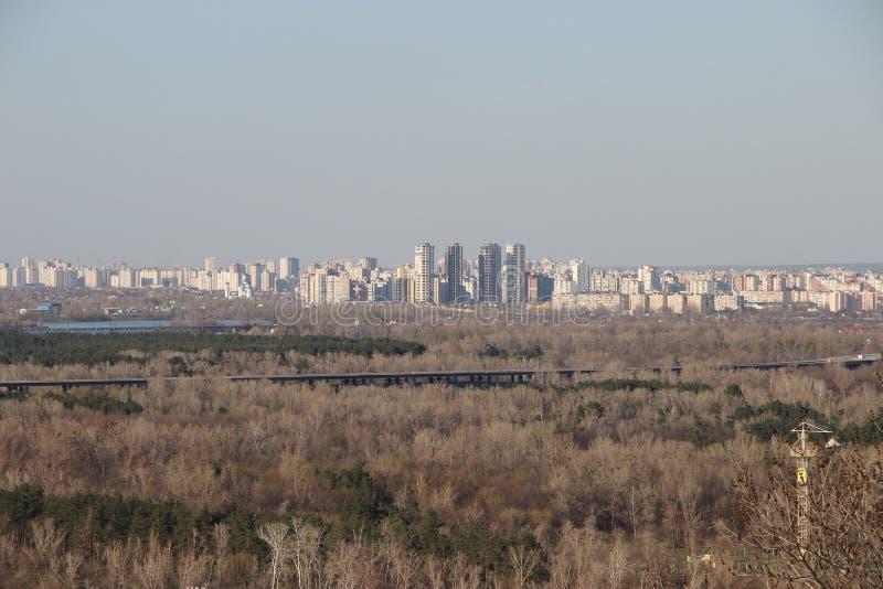 Area del dormitorio di Kiev immagine stock