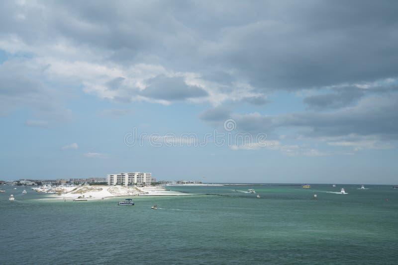 Area di Destin in Florida fotografia stock libera da diritti