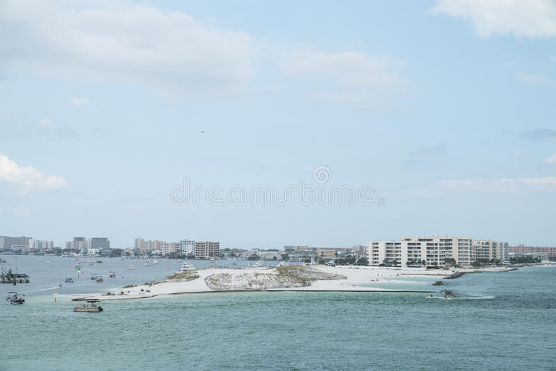 Area di Destin in Florida immagine stock libera da diritti