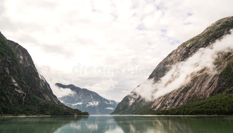 Area di Eidfjord fotografie stock