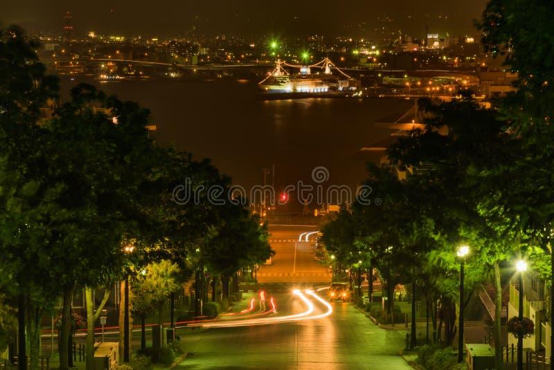 Area di Motomachi a Hakodate Giappone immagini stock libere da diritti