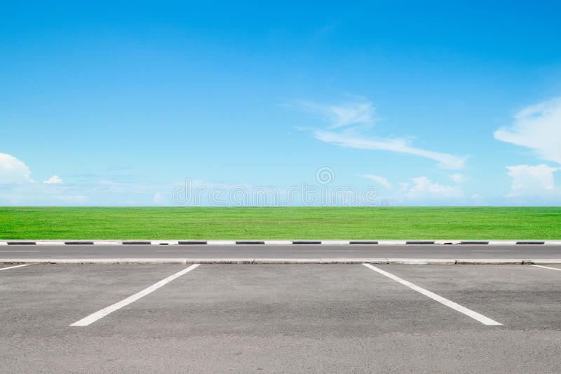 Download Area di parcheggio vuota immagine stock. Immagine di litoraneo - 55361849