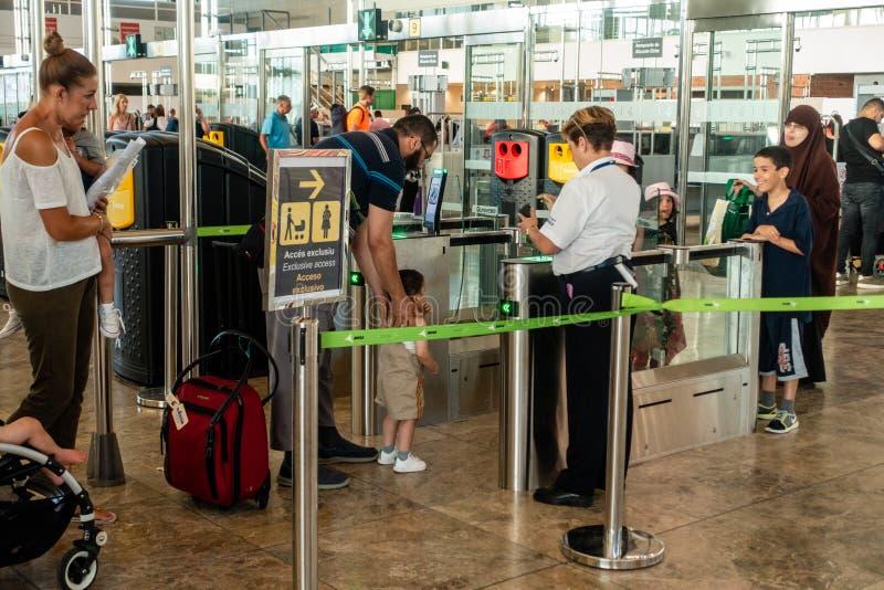 Area di partenza dell'aeroporto immagini stock