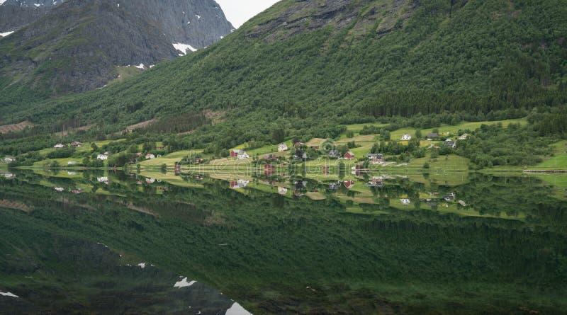 Area di Sykkylven fotografia stock libera da diritti