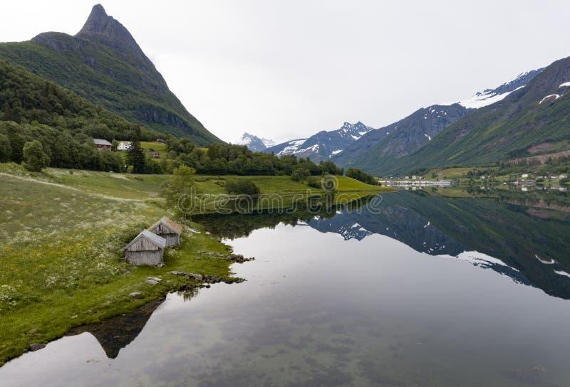 Area di Sykkylven fotografie stock libere da diritti