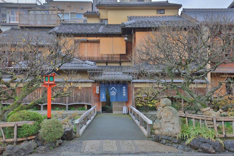Area of Kyoto Gion Shirakawa at morning. The area of Kyoto Gion Shirakawa at morning stock photos