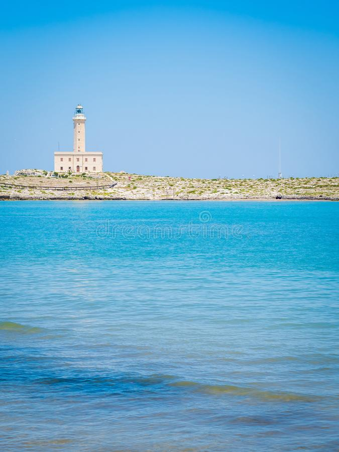 Area of the port of Vieste, Gargano, Puglia. The coast of Gargano houses numerous beaches and tourist facilities royalty free stock photos