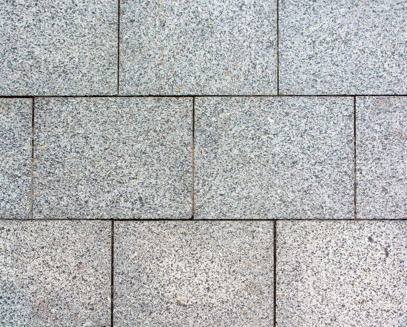 Area presentata della pietra per lastricati immagini stock