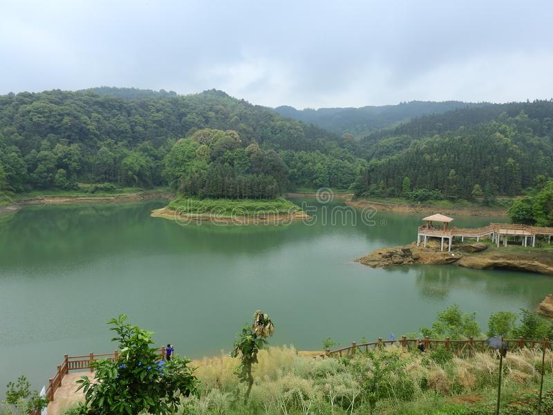 Area scenica di Daolingou immagine stock libera da diritti