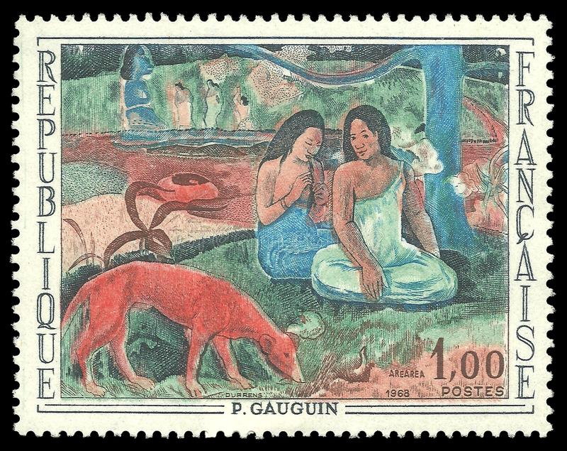 Arearea Paul Gauguin obraz stock