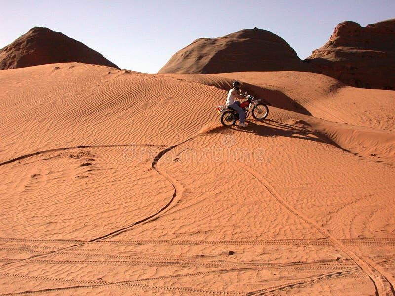 Areia Ardente Imagem de Stock