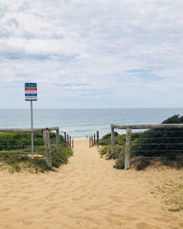 Areia 2018 da abertura do recurso da baía do verão imagem de stock