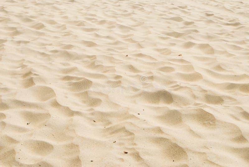Areia da praia fotografia de stock