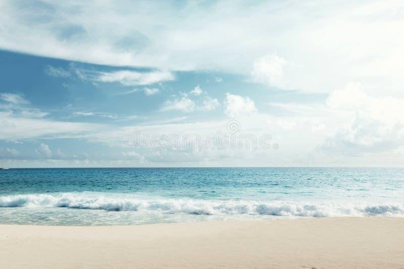 Areia do mar da praia fotografia de stock