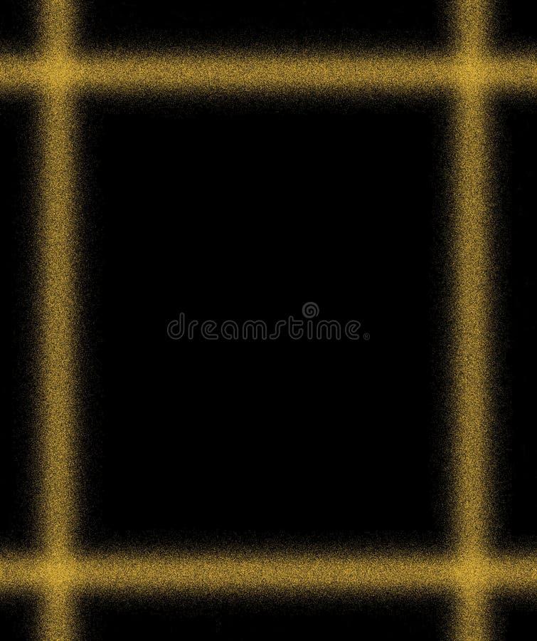 Areia do ouro. ilustração royalty free