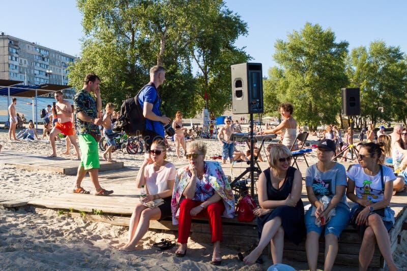 Areia Fest foto de stock
