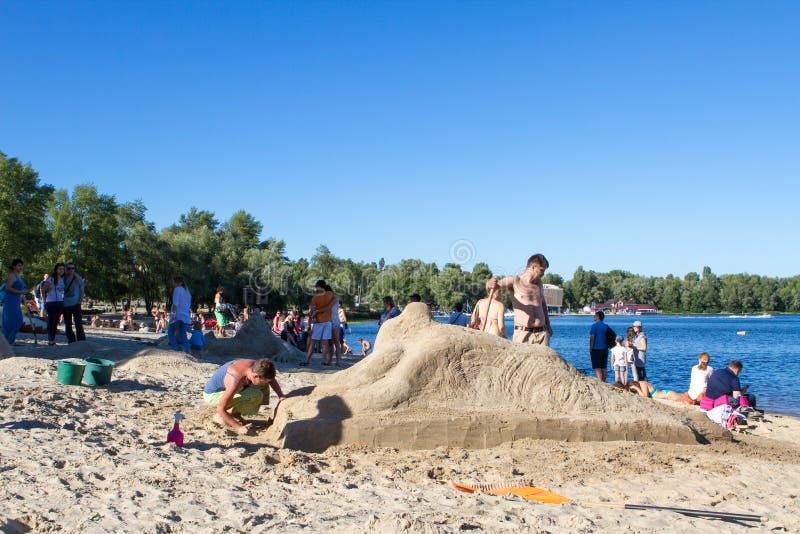 Areia Fest imagens de stock