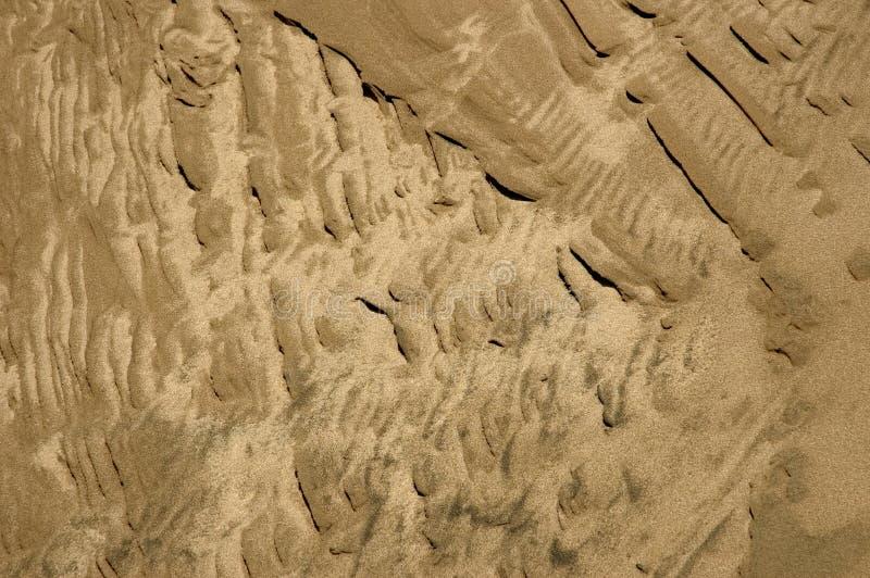 Areia Textured foto de stock royalty free