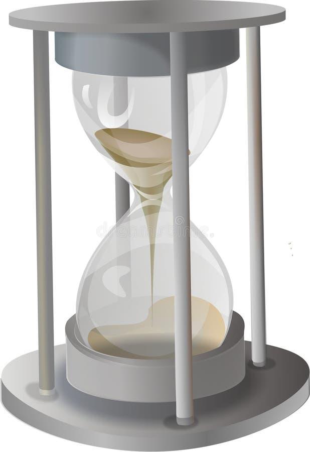 Areia-vidro do metal ilustração stock