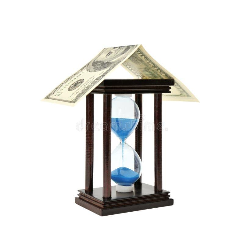 Download Areia-vidro e dólar foto de stock. Imagem de economias - 12804158