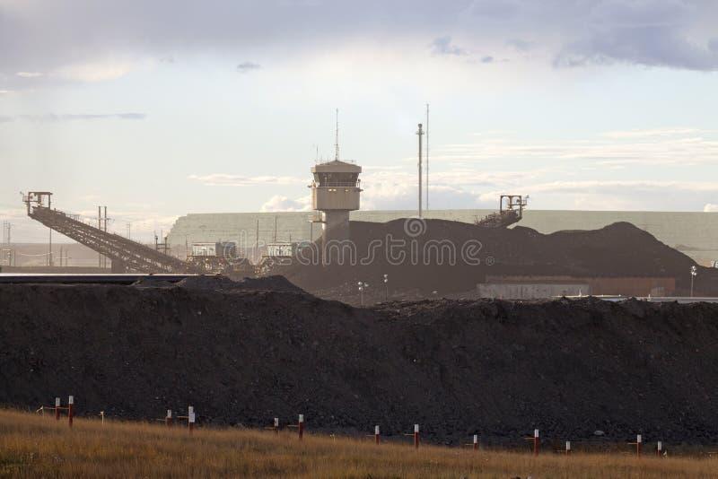 Areias de óleo, Alberta, Canadá fotos de stock royalty free