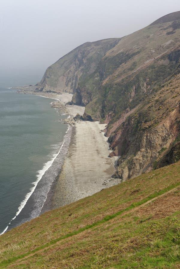 Areias de Sillery, Lynmouth imagem de stock royalty free