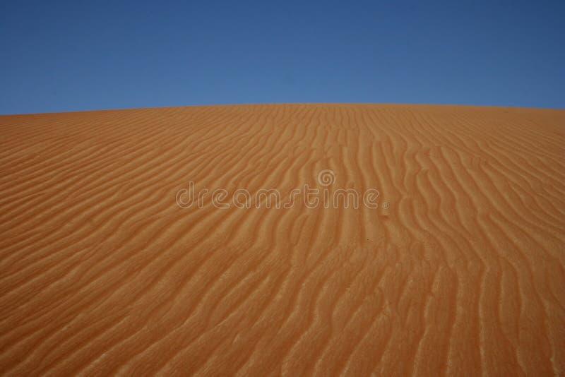 Areias de Wahiba foto de stock