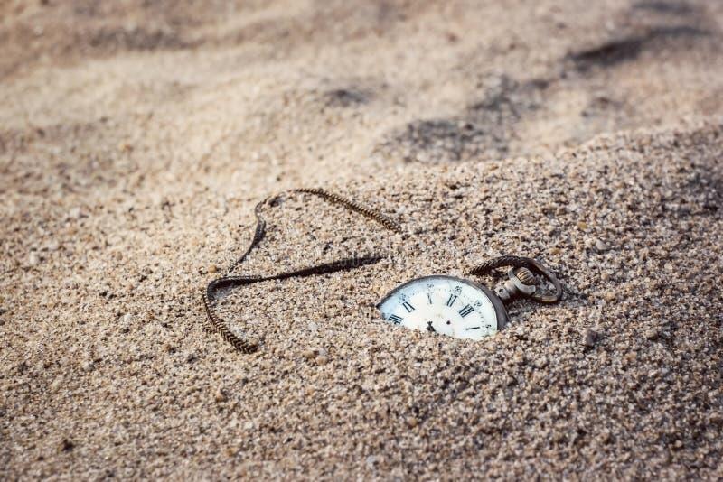 Areias do tempo fotografia de stock