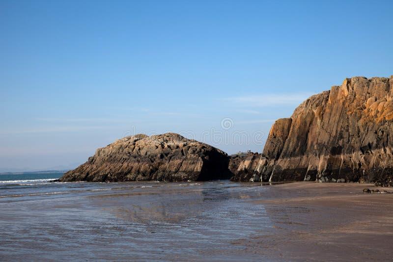 Areias pretas da rocha imagens de stock royalty free