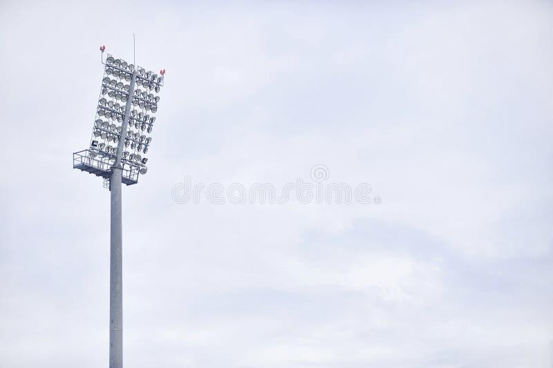 Aren sportowa floodlights obraz royalty free