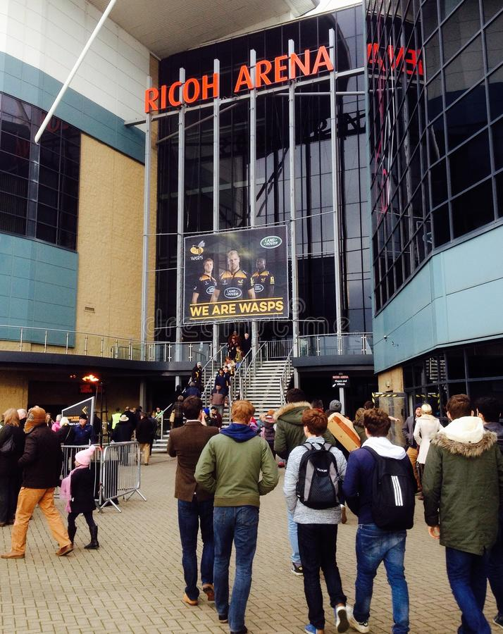 Arena Coventry do Ricoh imagens de stock