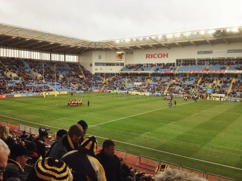 Arena Coventry do Ricoh imagem de stock royalty free