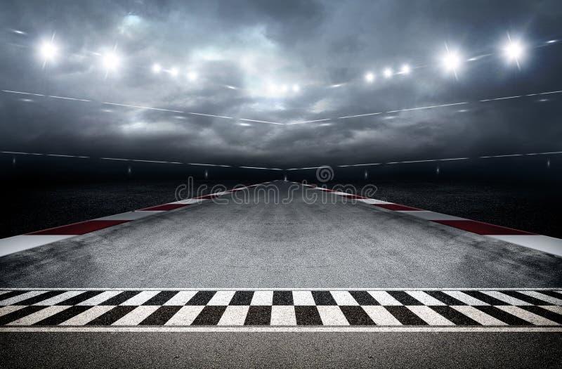 Arena 3d de la pista libre illustration