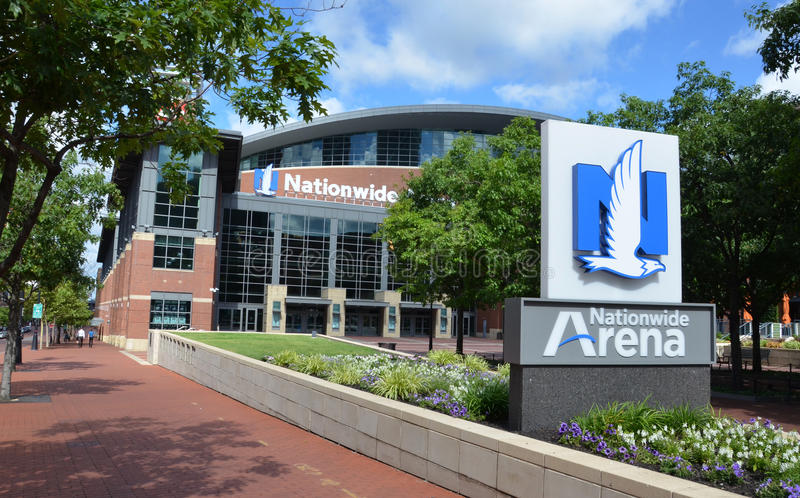 Arena de âmbito nacional em Columbo, OH foto de stock royalty free