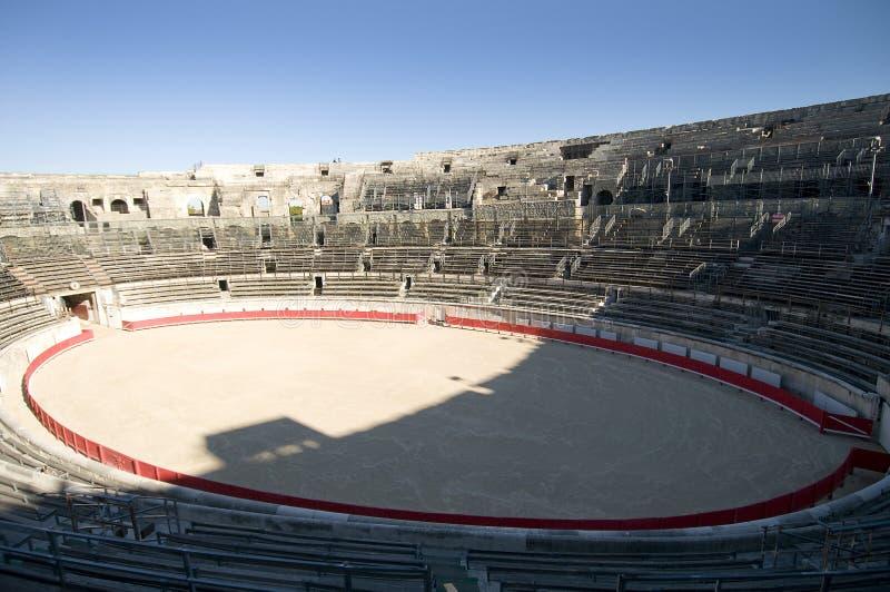A arena de Arles, França fotografia de stock