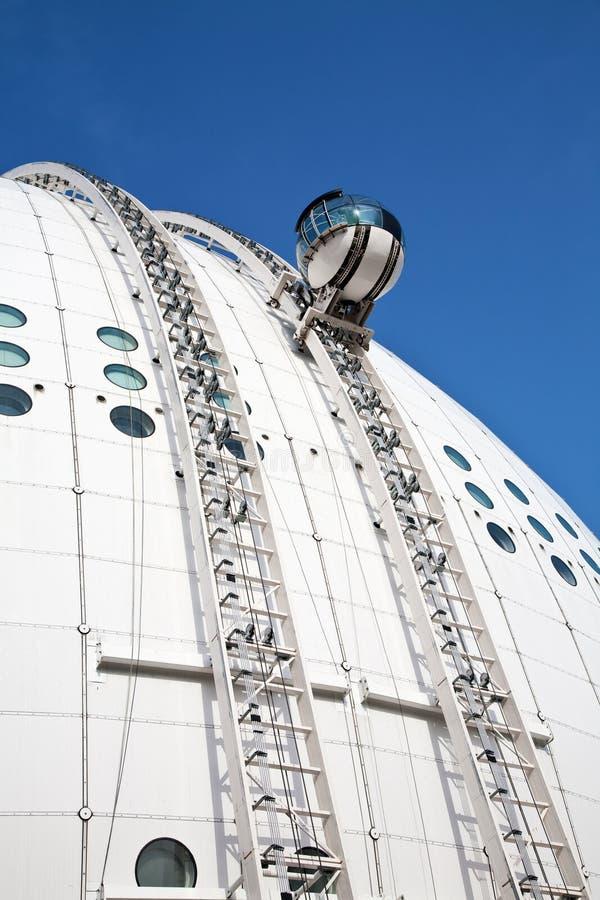 Arena de Globen em Éstocolmo imagem de stock royalty free