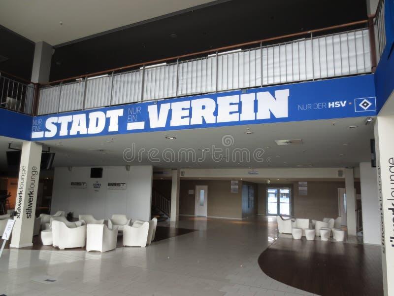 Arena de Hamburgo Imtech fotografia de stock royalty free