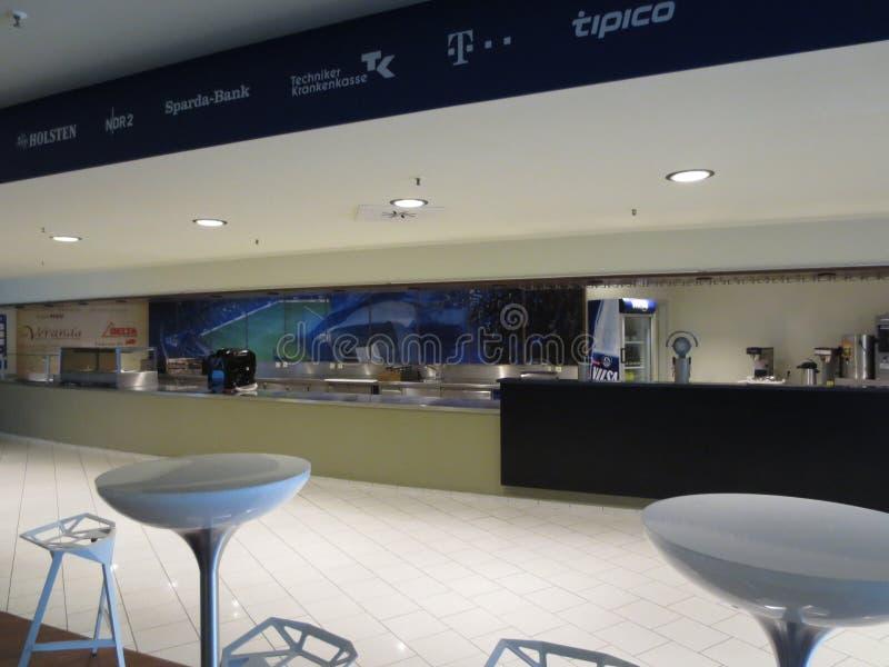 Arena de Hamburgo Imtech imagens de stock
